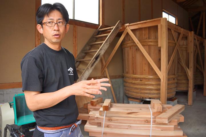ヤマロク醤油5代目山本康夫さん