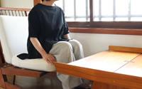 【ツムギ】保多織フレアーTシャツ(女性用)